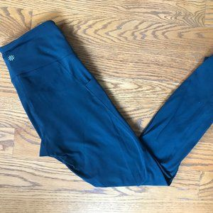 Teal Mid-Rise Athleta Leggings